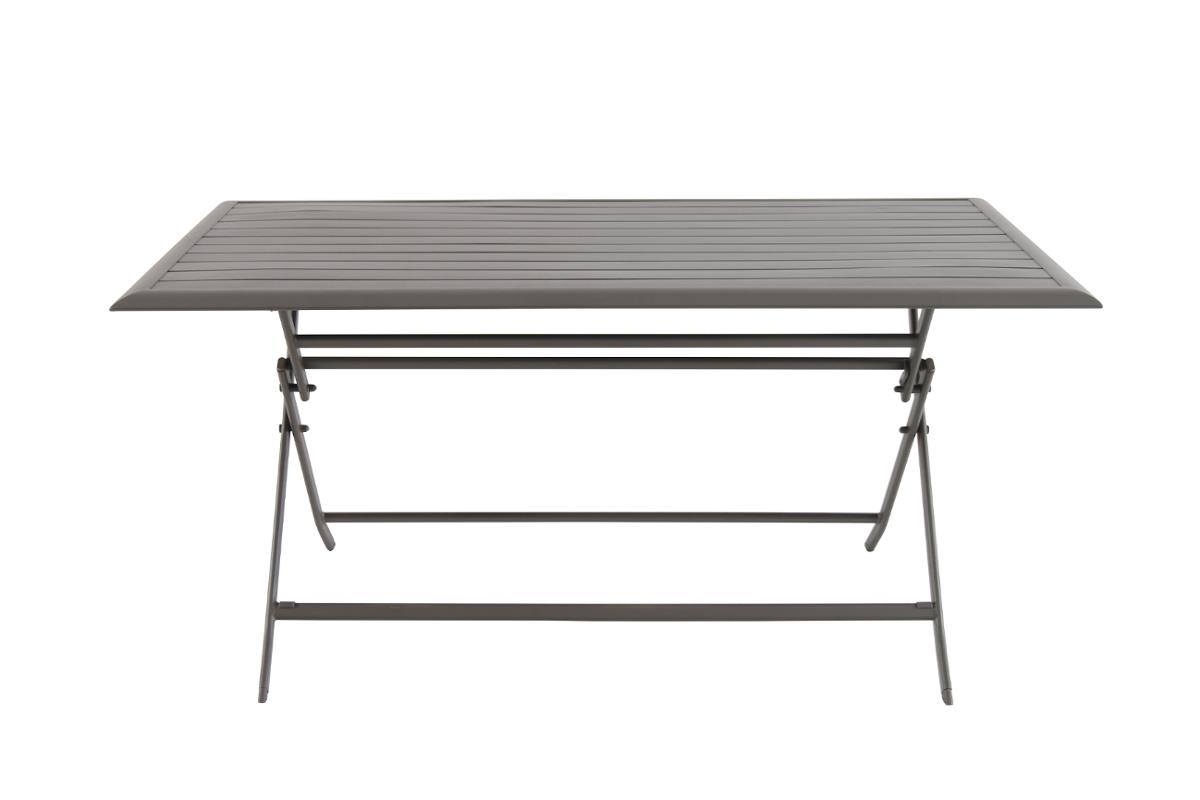 TABLE DE JARDIN PLIANTE RECTANGULAIRE AZUA TONKA