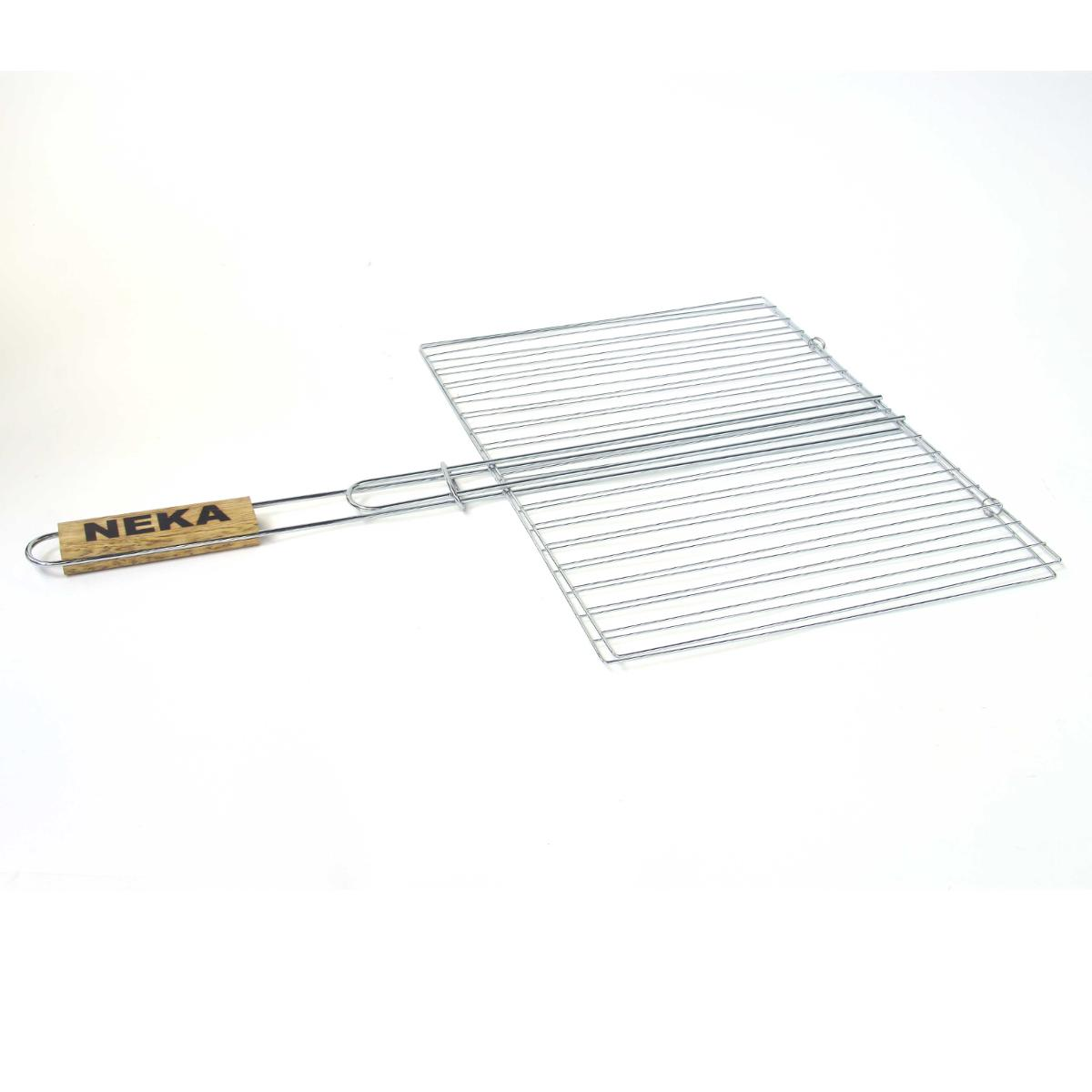 GRILLE BBQ DOUBLE 40X50 CHROME