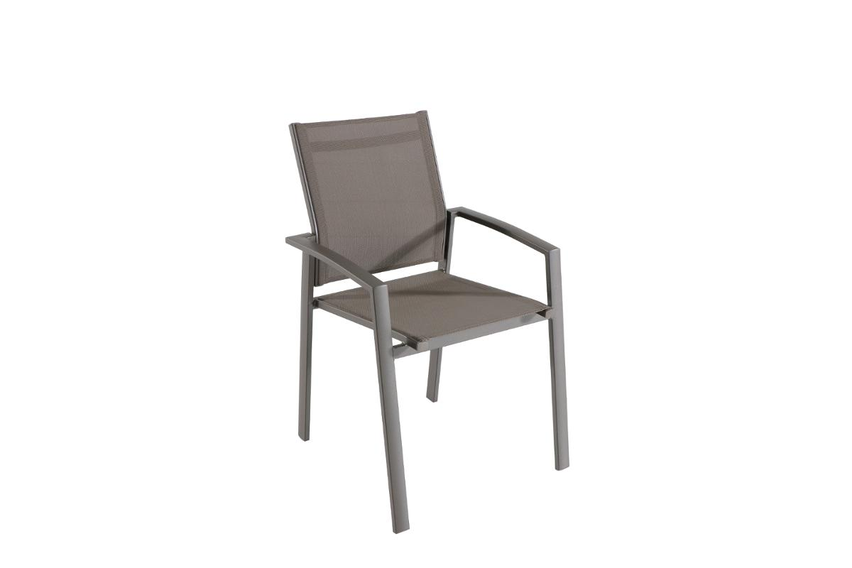 FAUTEUIL DE JARDIN EMPILABLE AXIOME SPECULOOS & PRALINE