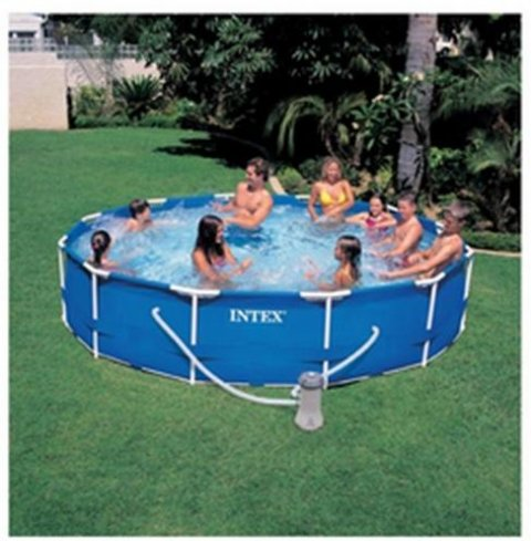 KIT PISC TUB ROND 3.66X0.76M